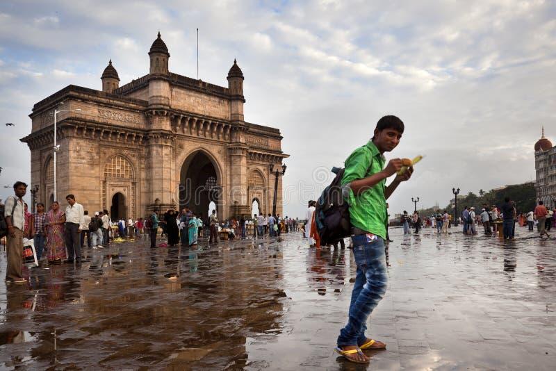 Monumento da porta de India fotos de stock