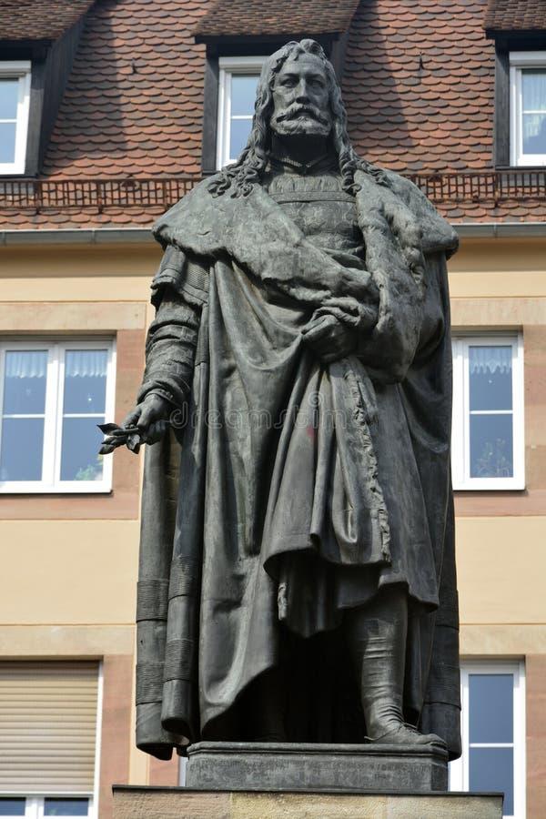 Monumento de Albrecht Durer en Nuremberg imagen de archivo