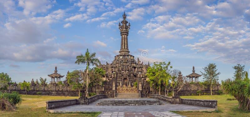 Monumento de Bajra Sandhi ou Monumen Perjuangan Rakyat Bali, Denpasar, Bali, Indon?sia foto de stock royalty free
