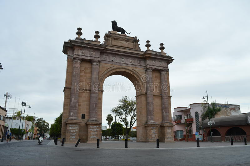 Monumento de Calzada do la de Arco de fotos de stock royalty free
