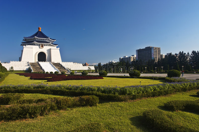 Monumento de Chiang Kai-shek fotos de archivo