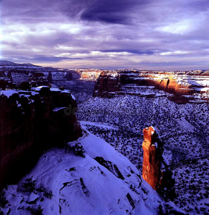 Monumento de Colorado fotografía de archivo