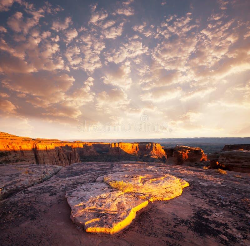 Monumento de Colorado foto de archivo libre de regalías