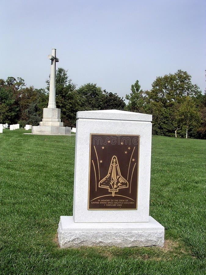 Monumento 2004 de Columbia del cementerio de Arlington foto de archivo