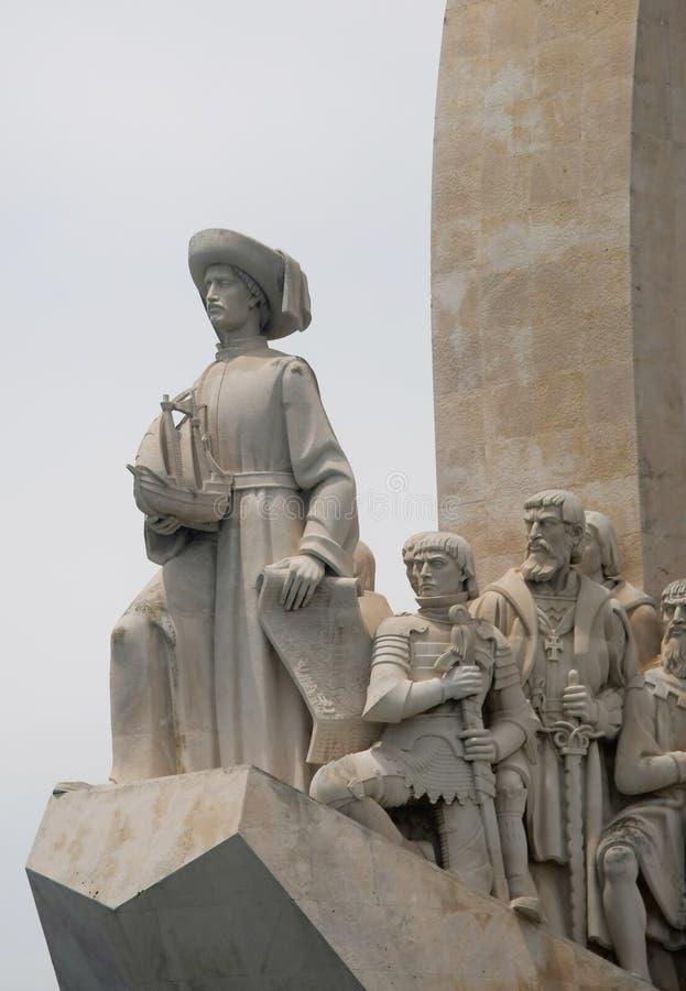 Monumento de Descobrimentos imágenes de archivo libres de regalías