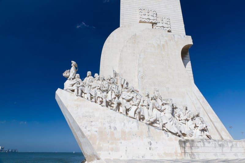 Monumento de descubrimientos, Lisboa, Portugal fotografía de archivo