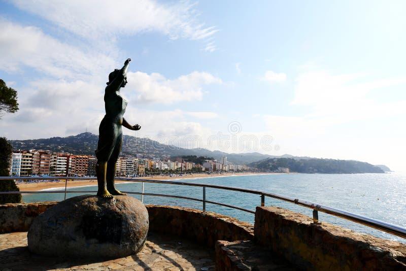 Monumento de Dona Marinera imagem de stock