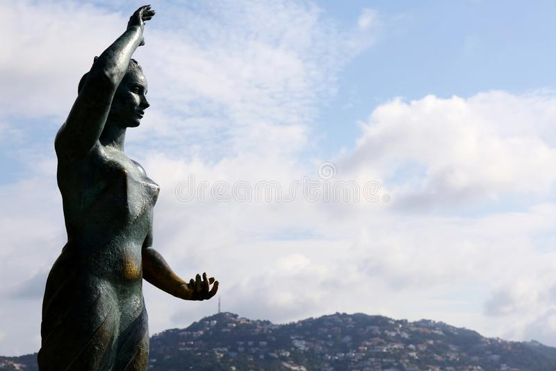 Monumento de Dona Marinera imagens de stock