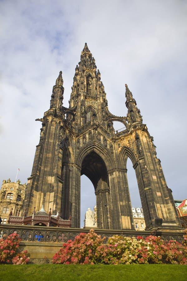 Monumento de Edimburgo imagen de archivo