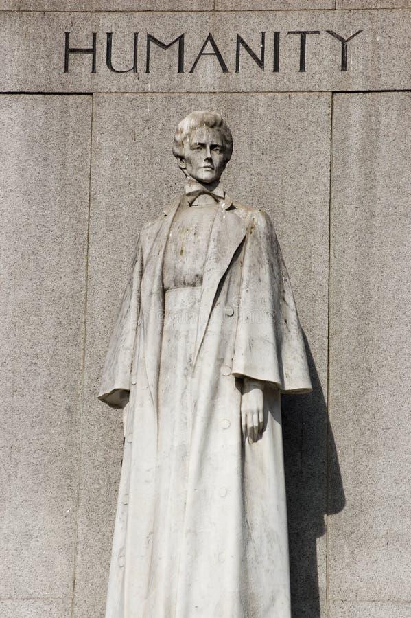 Monumento de Edith Cavell, Londres fotos de stock