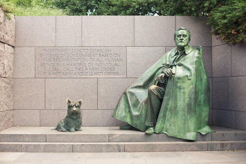 Monumento de Franklin Delano Roosevelt fotografía de archivo