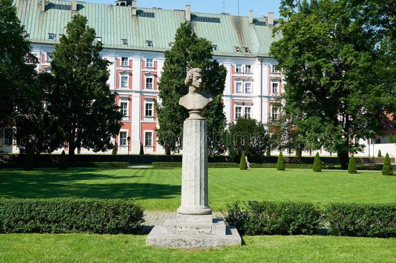 Monumento de Frederic Chopin poznan imagem de stock royalty free