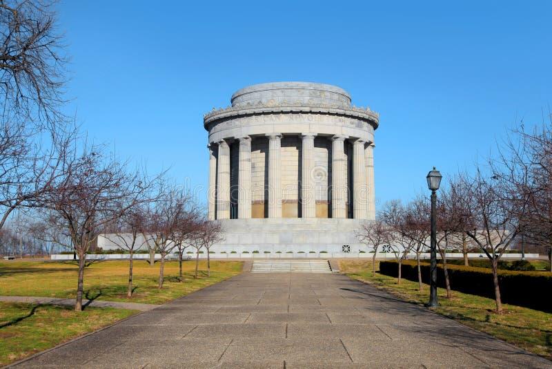 Monumento de George Rogers Clark fotografía de archivo libre de regalías