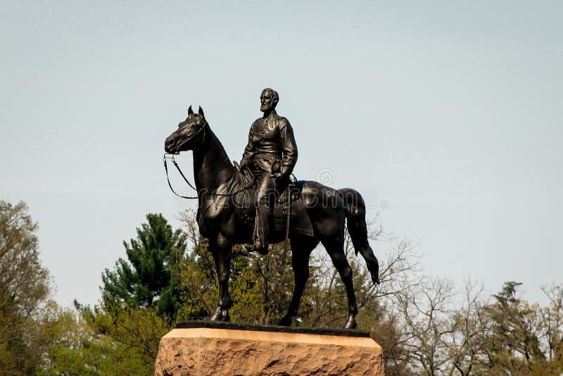 Monumento de Gettysburg foto de stock royalty free