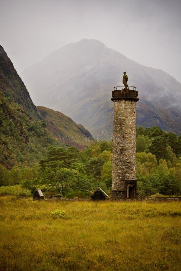 Monumento de Glenfinnan foto de stock