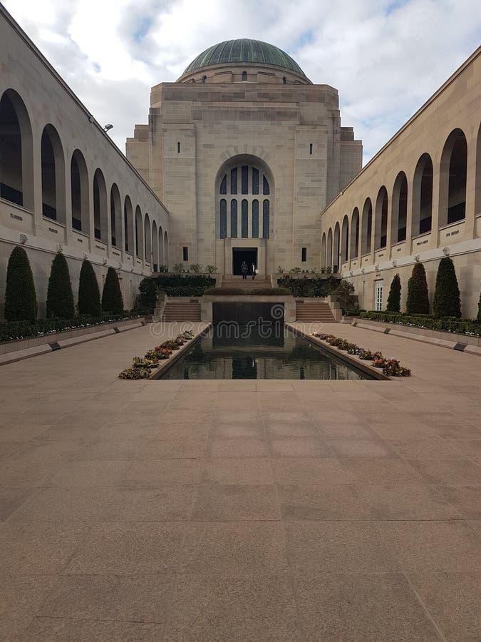 Monumento de guerra australiano, Canberra foto de archivo libre de regalías