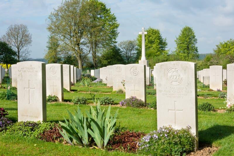 Monumento de guerra de Thiepval foto de archivo libre de regalías