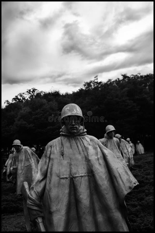 Monumento de guerra Washington imagen de archivo