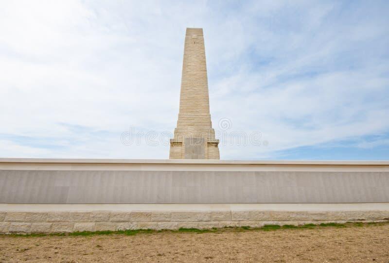 Monumento de Helles, Gallipoli, Turquía. fotos de archivo libres de regalías