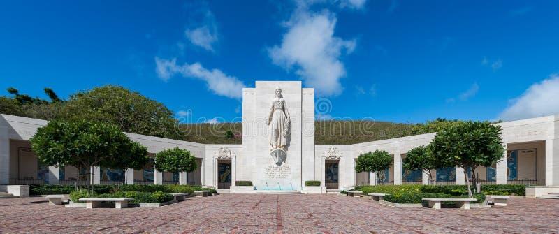 Monumento de Honolulu fotografía de archivo libre de regalías