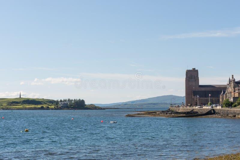Monumento de Hutchesons no próximo de Oban, Escócia foto de stock royalty free