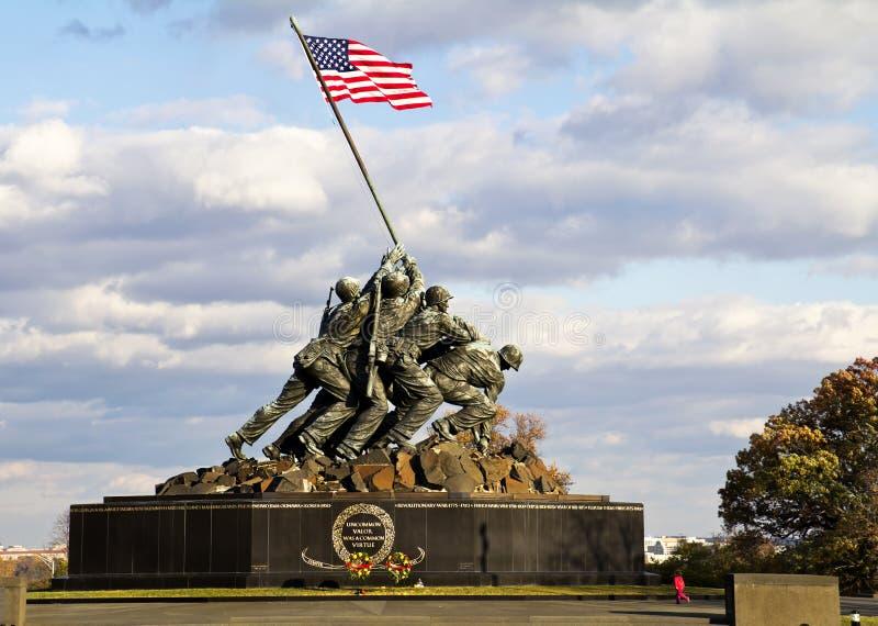 Monumento de Iwo Jima fotografía de archivo