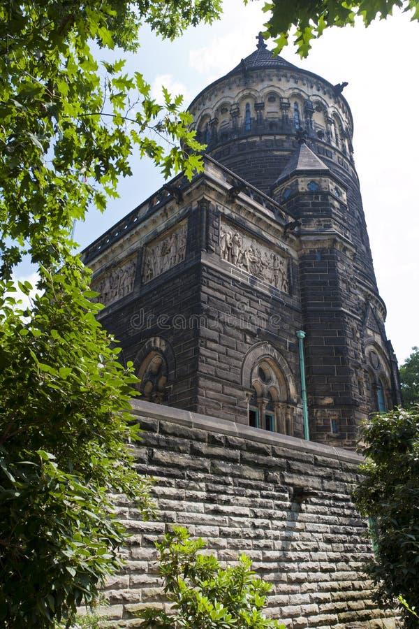 Monumento de James A. Garfield. Cleveland, Ohio. fotos de archivo