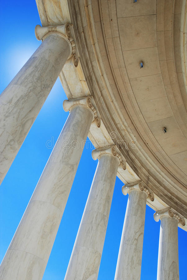 Monumento de Jefferson fotografía de archivo