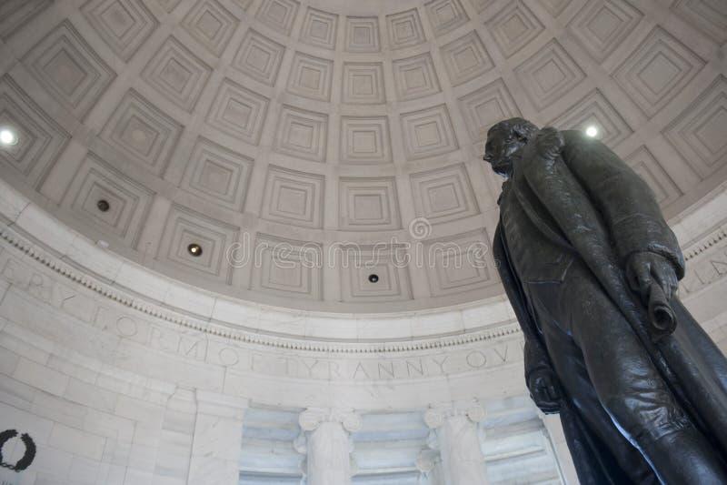 Monumento de Jefferson imágenes de archivo libres de regalías