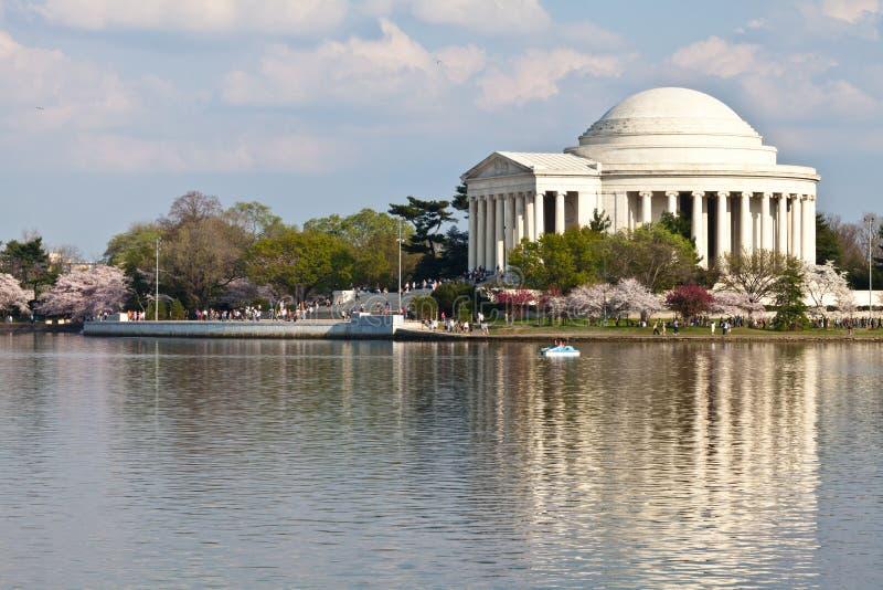 Monumento de Jefferson del Washington DC foto de archivo