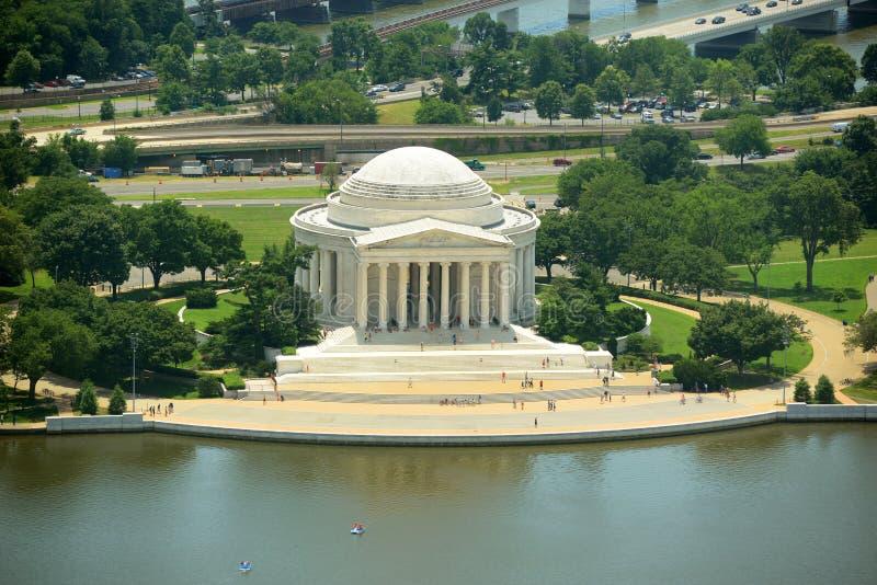 Monumento de Jefferson en el Washington DC, los E foto de archivo libre de regalías