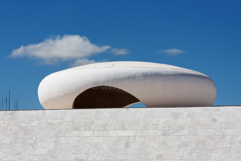 Monumento de JK en Brasilia foto de archivo libre de regalías
