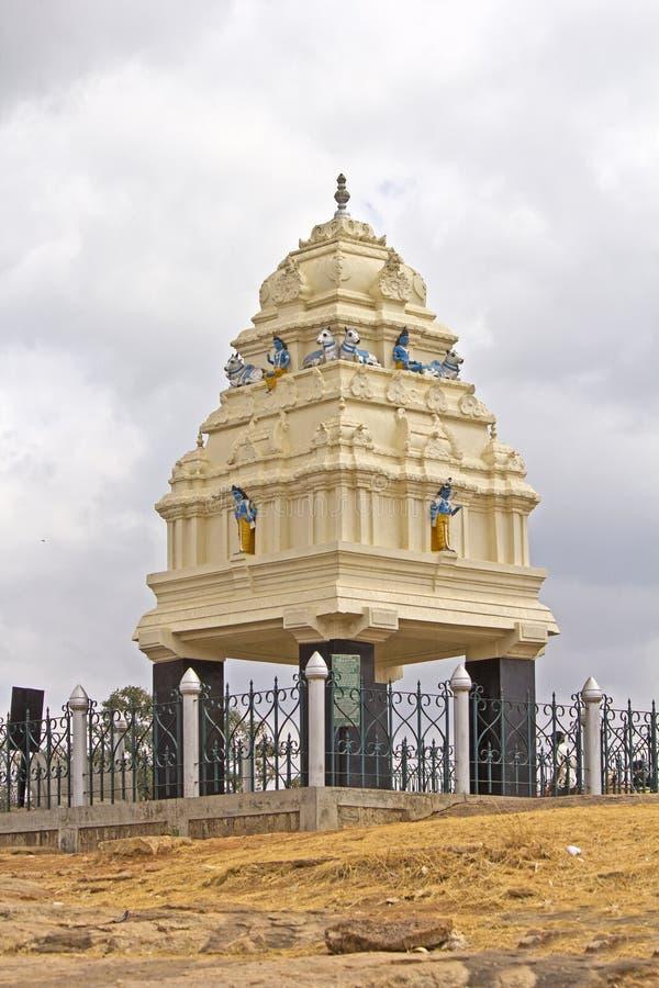Monumento de Kempe Gowda, Balgalore fotos de archivo libres de regalías