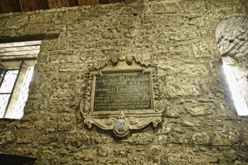 Monumento de la capilla en una casa de campo hermosa cerca de Leeds West Yorkshire que no es una propiedad de confianza nacional imagen de archivo libre de regalías