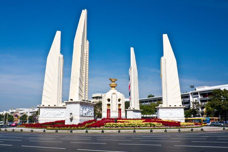 Monumento de la democracia imagen de archivo libre de regalías