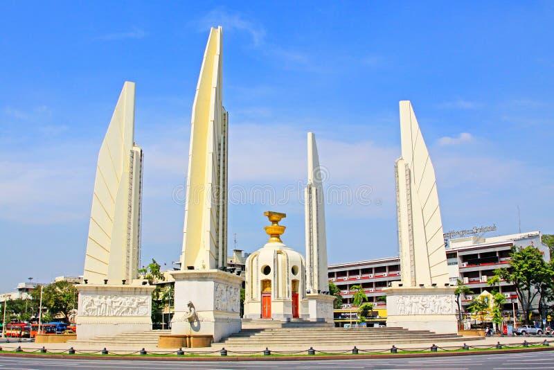 Monumento de la democracia, Bangkok, Tailandia fotos de archivo libres de regalías