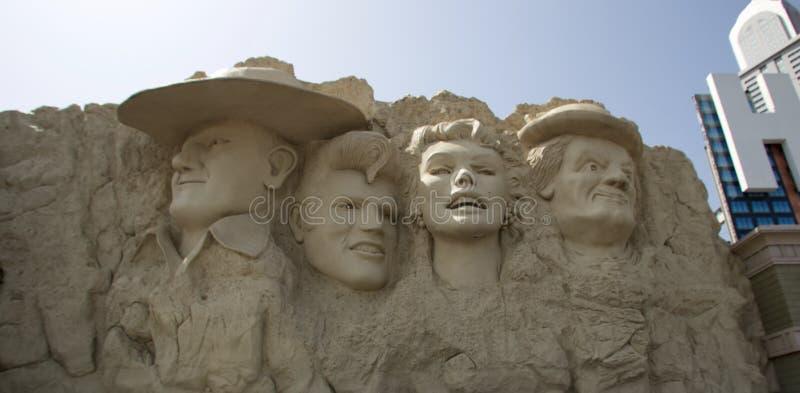 Monumento de la estrella de cine en el museo de la cera en Branson, Missouri fotografía de archivo libre de regalías