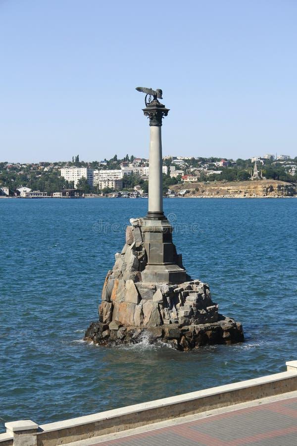Monumento de la guerra de Crimea de Sevastopol fotografía de archivo libre de regalías