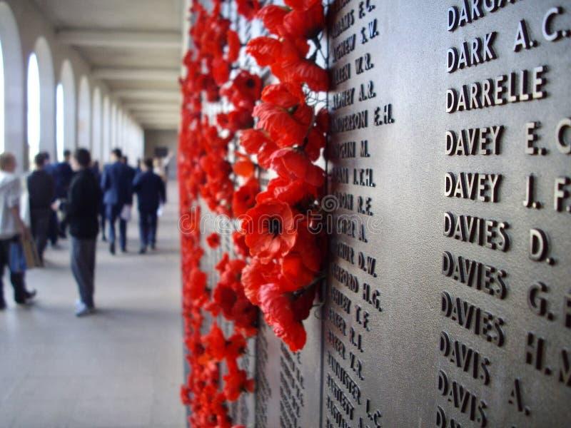 Monumento de la guerra en Canberra fotos de archivo libres de regalías