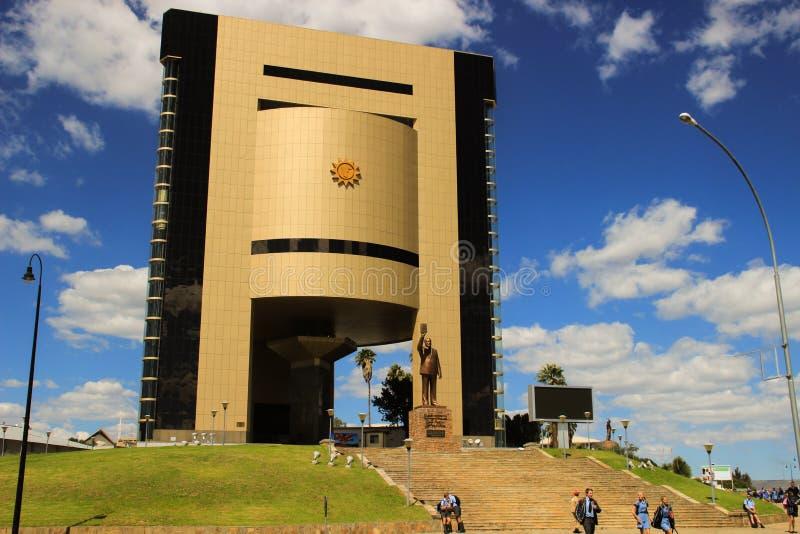 Monumento de la independencia en el centro de ciudad imagen de archivo libre de regalías