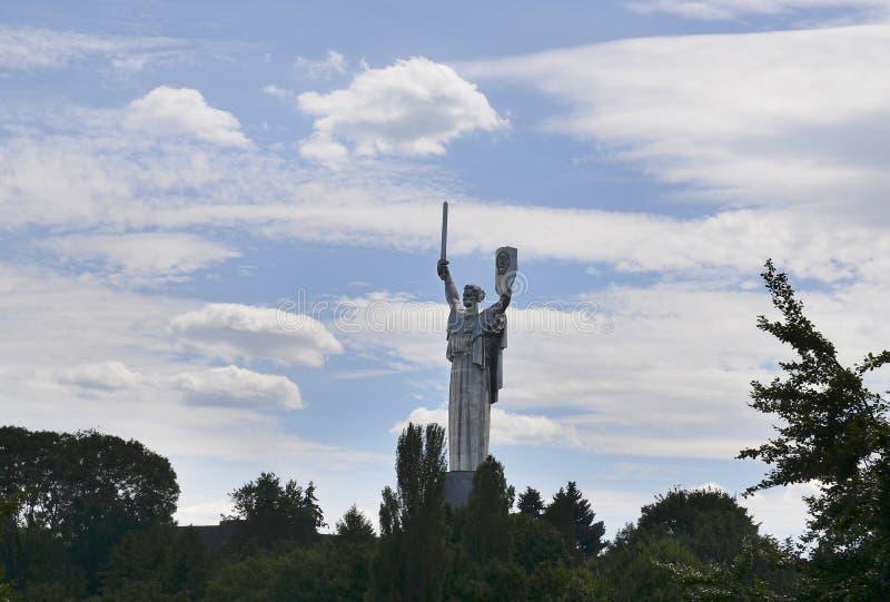 Monumento de la madre de la patria, Kiev, Ucrania fotos de archivo libres de regalías