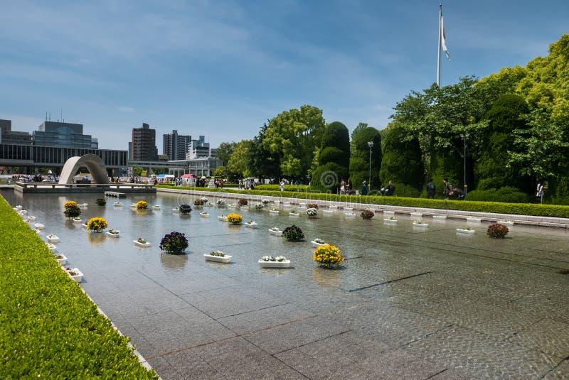 Monumento de la paz de Hiroshima imagen de archivo libre de regalías