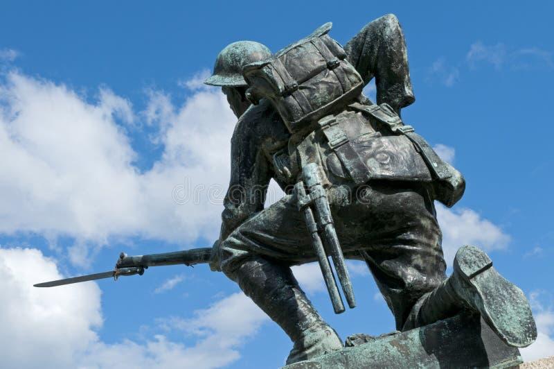 Monumento de la Primera Guerra Mundial fotos de archivo