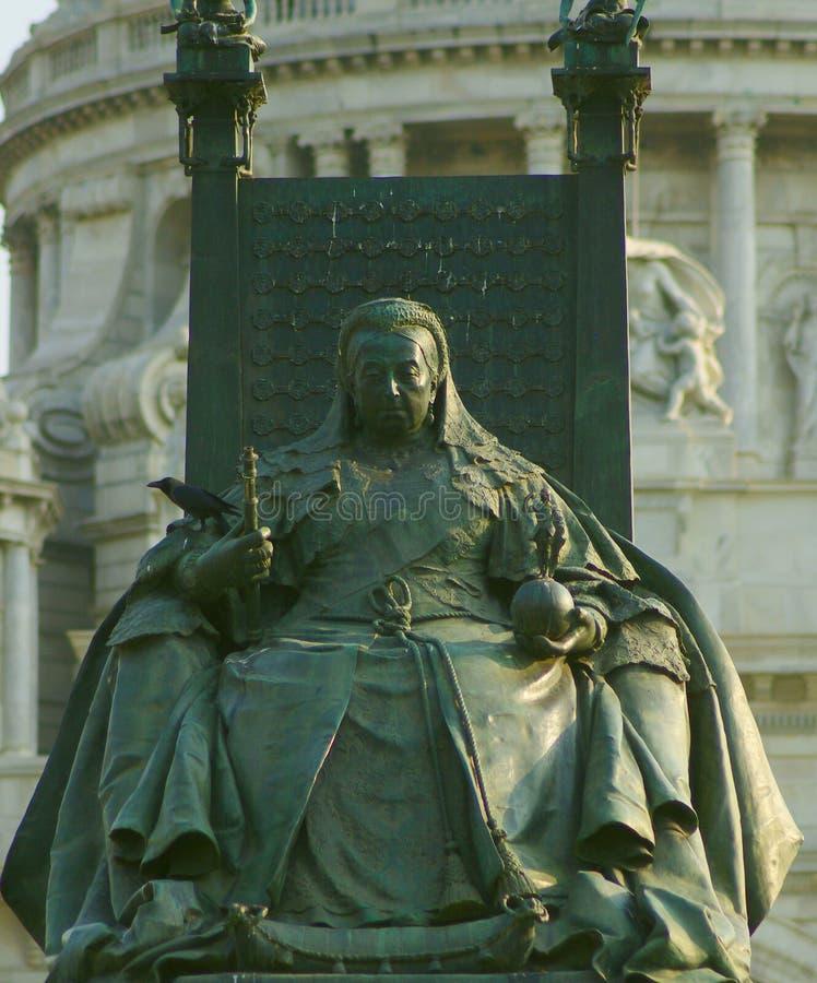 Monumento de la reina Victoria Kolkata, la India fotos de archivo libres de regalías