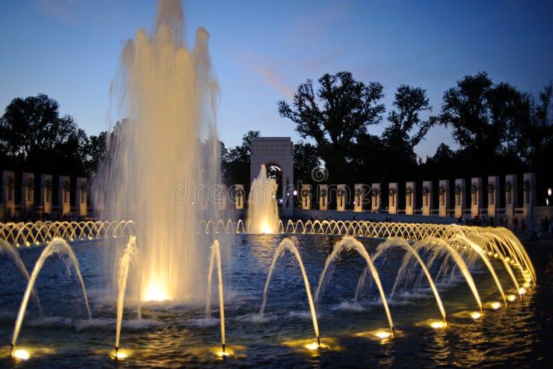 Monumento de la Segunda Guerra Mundial imagen de archivo
