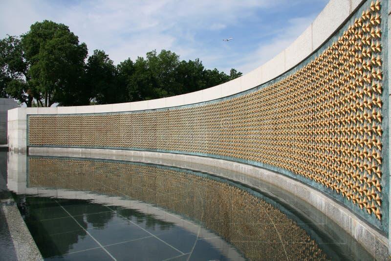 Monumento de la Segunda Guerra Mundial fotografía de archivo libre de regalías