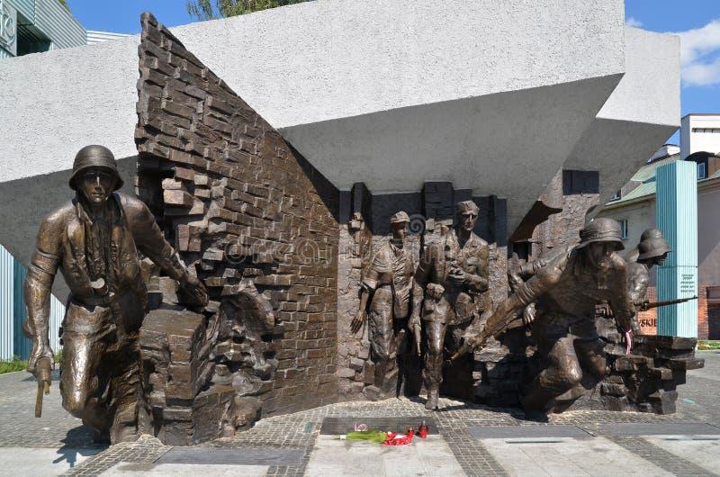 Monumento de la sublevación de Varsovia, Varsovia (Polonia) fotos de archivo