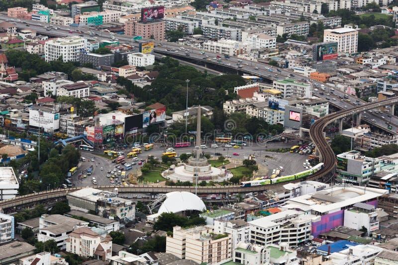 Monumento de la victoria de Bangkok foto de archivo libre de regalías
