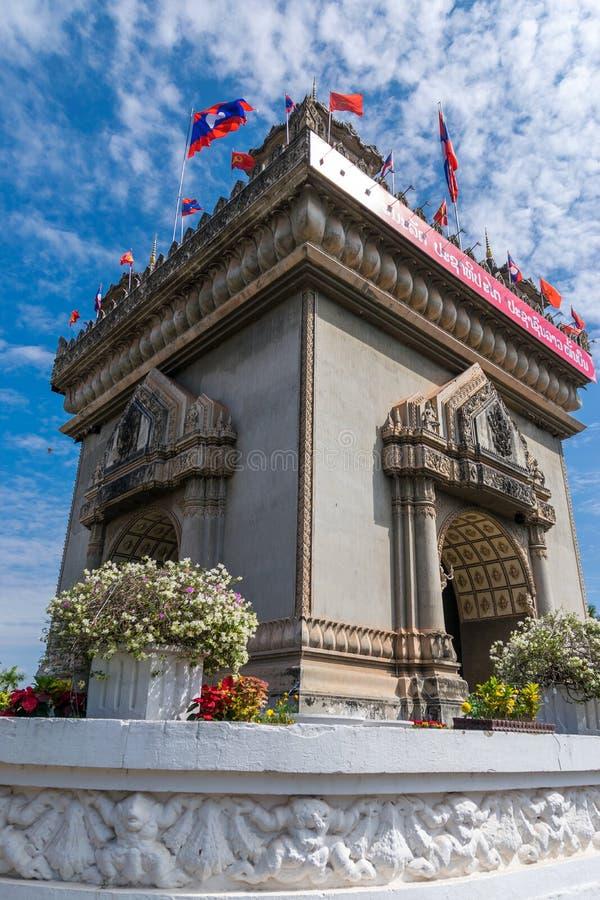 Download Monumento De La Victoria De Patuxai En Vientian Imagen de archivo - Imagen de conmemore, configuración: 64207665