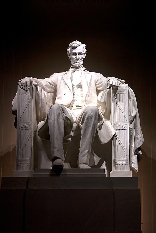Monumento de Lincoln imágenes de archivo libres de regalías